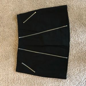 Tobi Black Mini Skirt